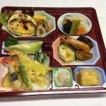 会席料理(カニグラタン)